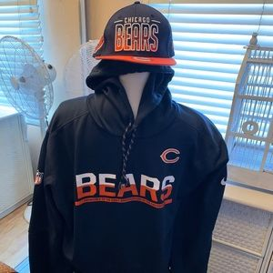 NFL Chicago Bears Hoodie and Hat